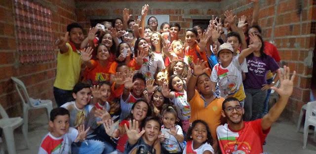 Infância e Juventude missionária de Fortaleza fazem visitas na comunidade