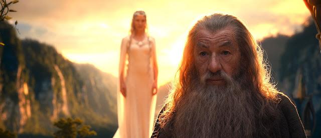 O Hobbit Galdalf  elfos
