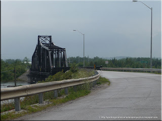 Little Current Swing Bridge in Little Current, Ontario