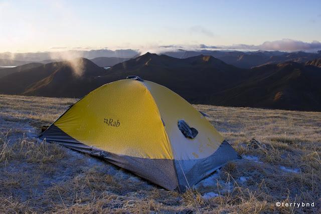 Rab Latok Ultra Bivi, frost camp