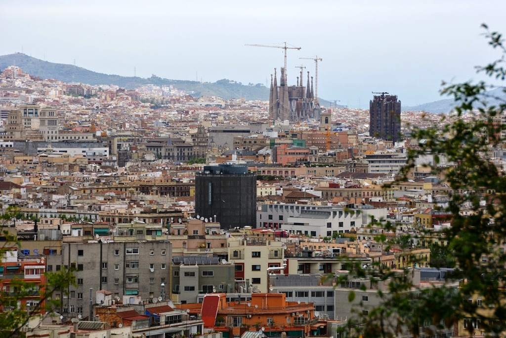 Travels - Ballroom Dancing - Amusement Parks: City views from Montjuic and Mi...
