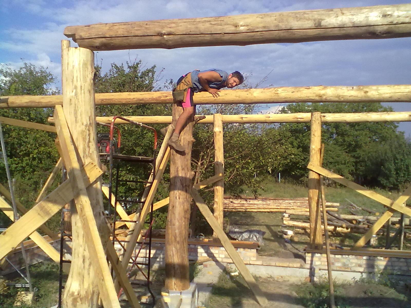 Каркас из бруса: как построить и собрать своими руками (фото и)