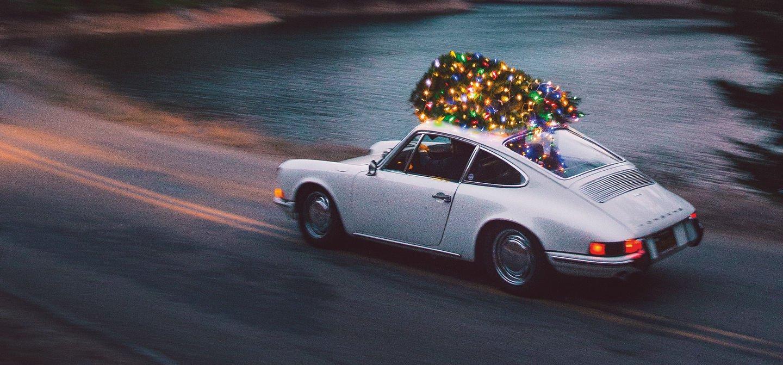 Getting The Christmas Tree Home Leh Keen Style Flatsixes