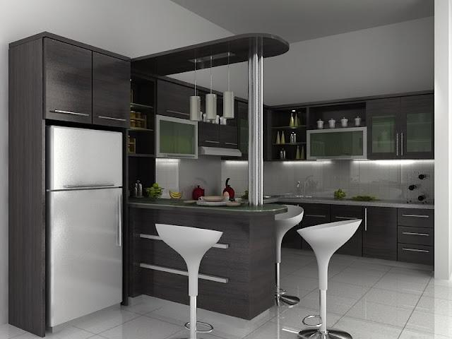 Desain Terbaik Lemari Buku dan Dapur Modern Minimalis