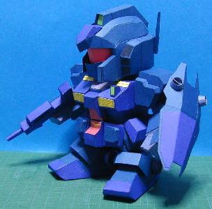RGM-79Q Jimukuueru Gundam Papercraft