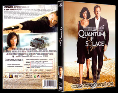 Quantum of Solace [2008] | Carátula