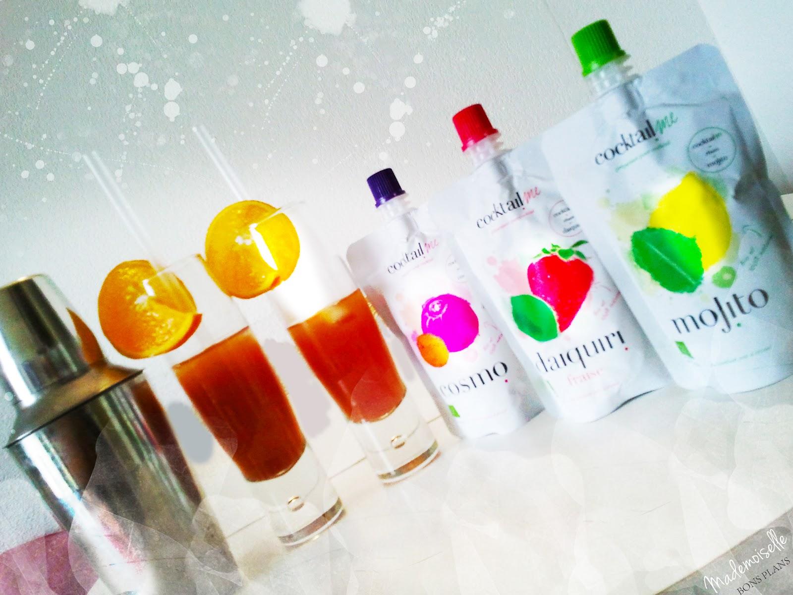 J'ai testé Cocktail Me: des cocktails 100% naturels et tendances + concours !
