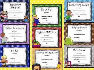 https://www.teacherspayteachers.com/Product/Classroom-Awards-1827483