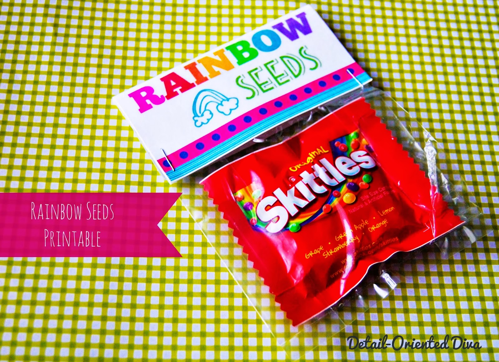 detail oriented diva rainbow seeds free printable