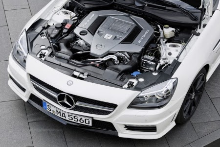 2014 Mercedes-Benz SLK55 AMG Engine