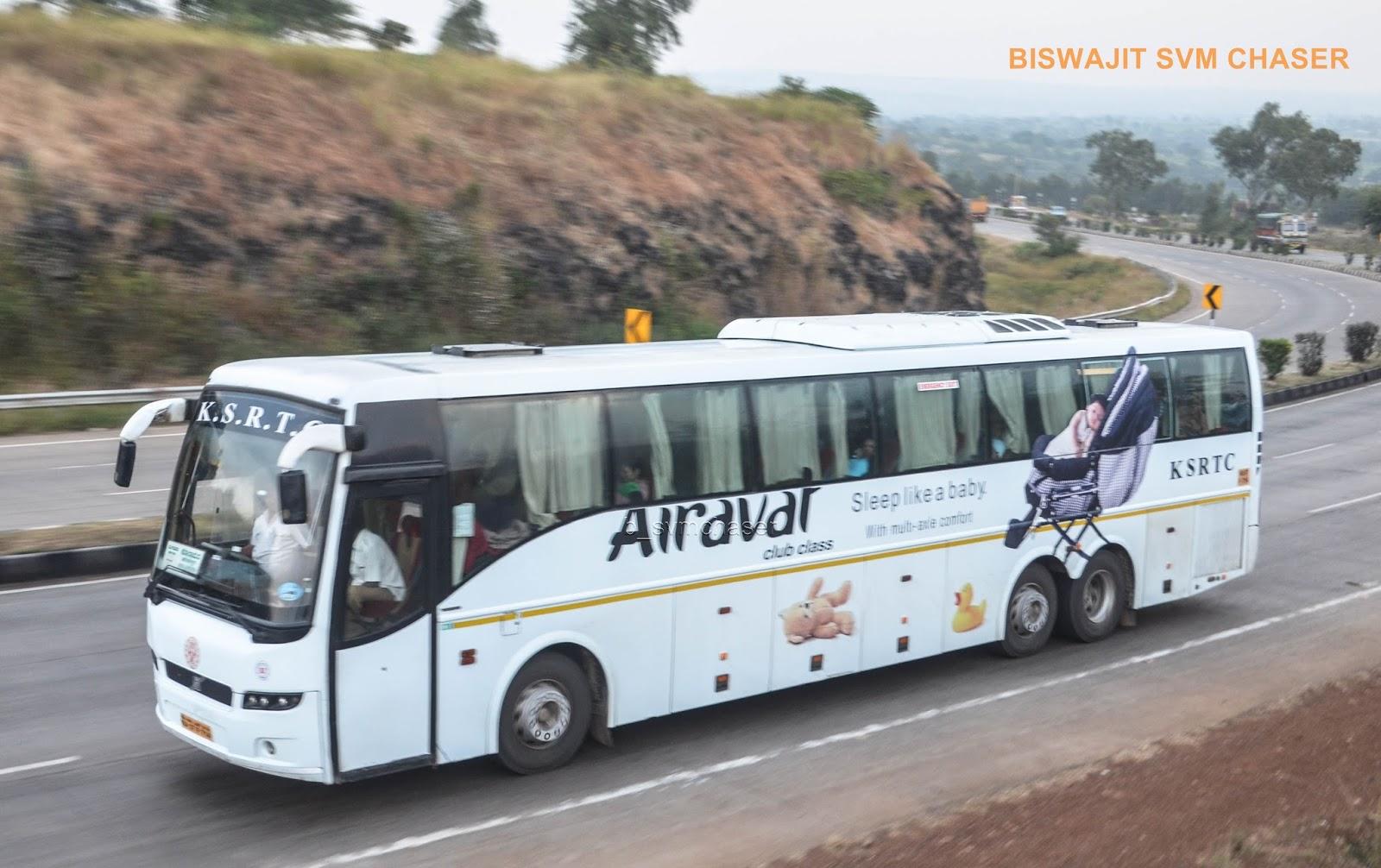 Ksrtc Airavat Club Class Volvo B9r Multiaxle Semi Sleeper