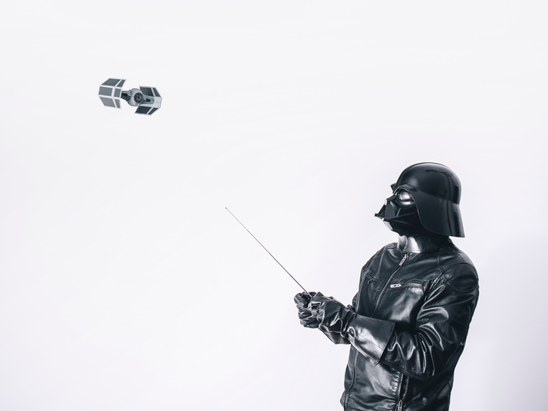10-Flying-around-Pawel-Kadysz-Photographs-of-Darth-Vader-away-from-Star-Wars-www-designstack-co