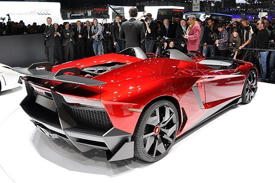 One Off Lamborghini Aventador J Aural Assault Sports $2.75 Million Price Tag