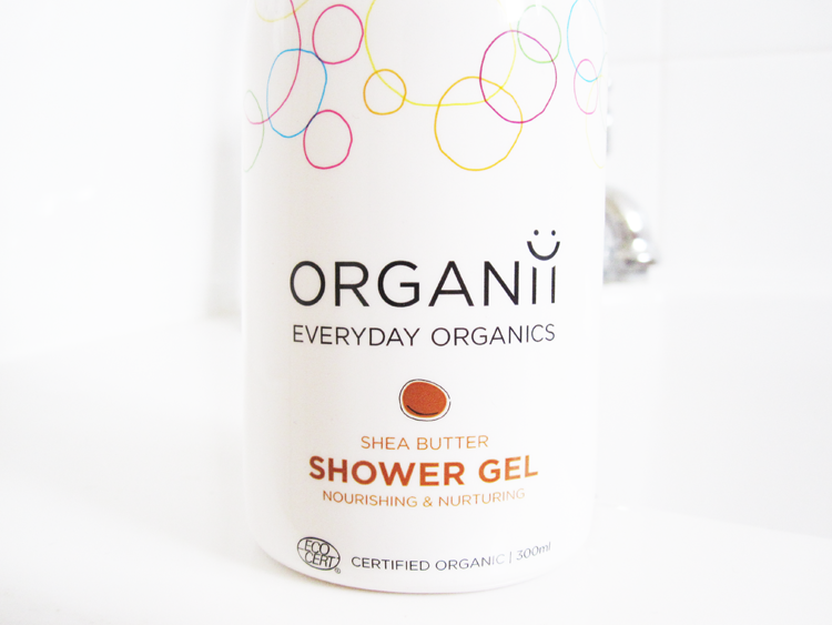 A picture of Organii Shea Butter Shower Gel review
