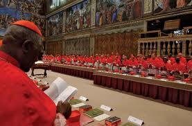 College of Cardinals - Seating Order