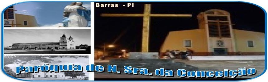 PARÓQUIA DE N. SRA. DA CONCEIÇÃO / BARRAS - PI
