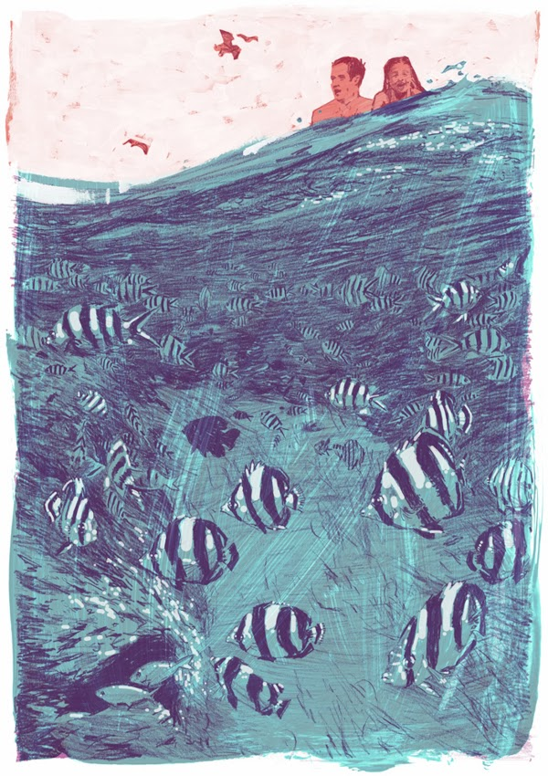 ©Jonny Ruzzo - J.D. Salinger's Nine Stories Illustrations