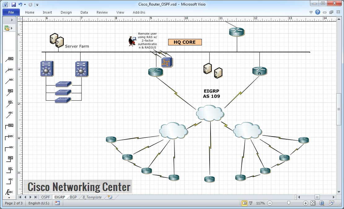 comparison of routing protocols eigrp ospf bgp with diagram ~ cisco