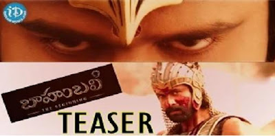 Prabhas Baahubali Movie Teaser