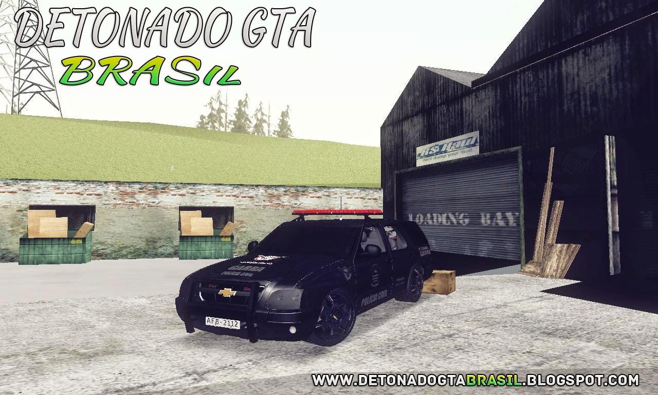 GTA SA - Chevrolet Blazer 2010 PCESP GARRA