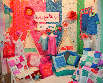 Wee Wander booth at Fall Quilt Market 2013