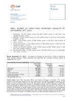 Q3, 2013, Enel, report