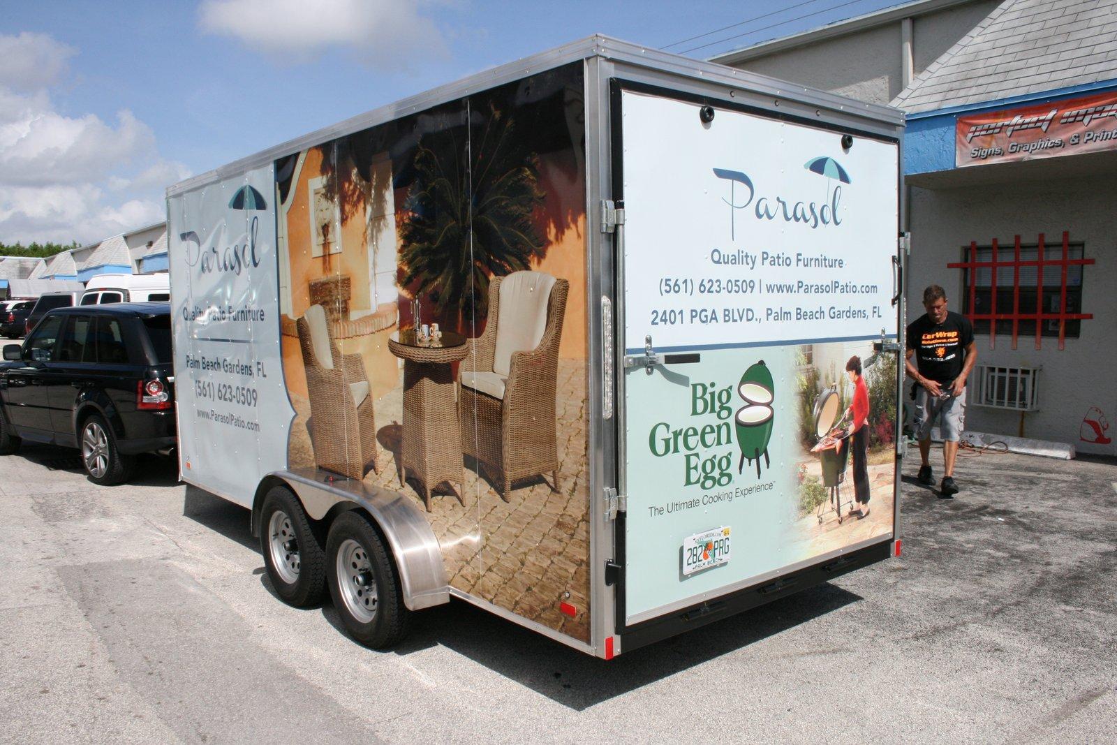 Trailer Wrap Palm Beach Gardens Fl For Parasol Patio Furniture 3m Certified Car Wrap Solutions