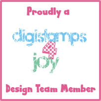 Honoured to be a DT for Digi Stamps 4 Joy!
