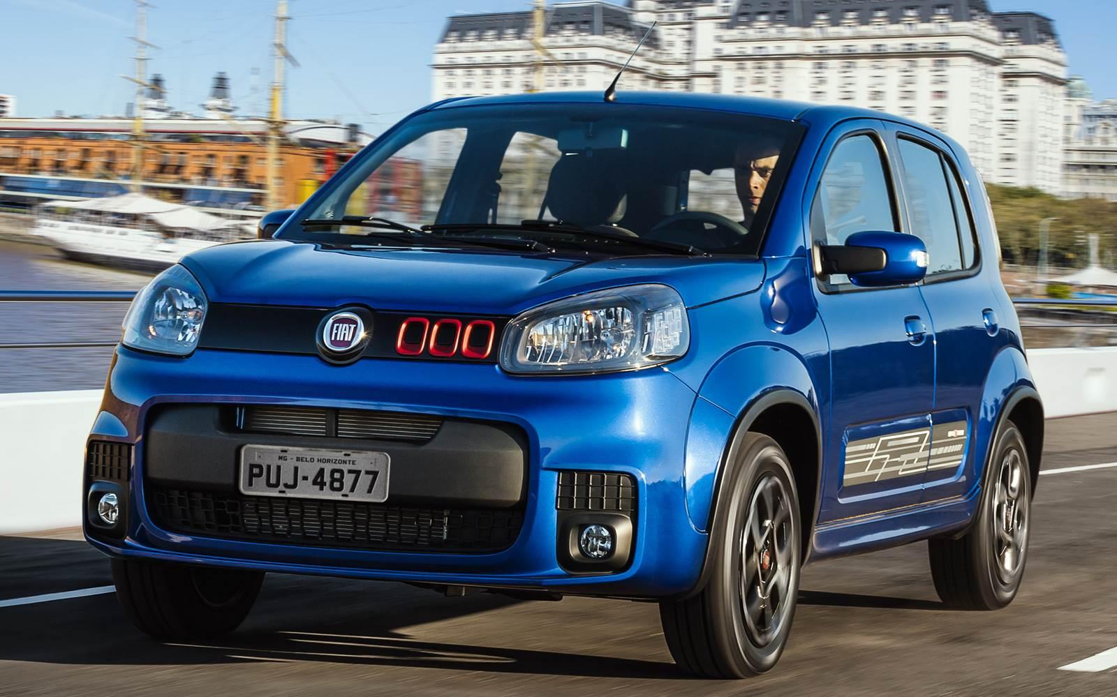 Fiat Uno 2016 - Preço