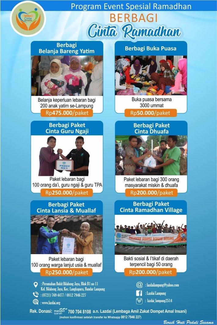 Program Event Spesial Ramadhan Lazdai