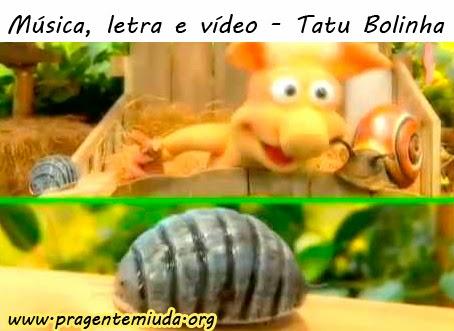 Música e vídeo Cocoricó - Tatu Bolinha