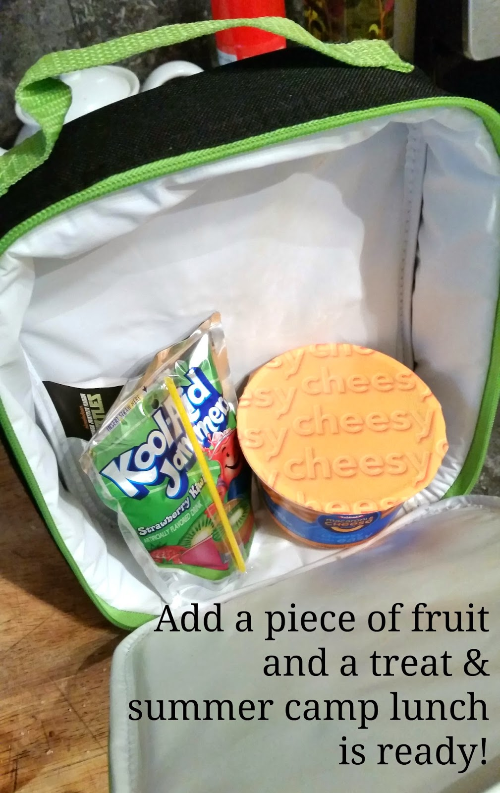 Quick & Easy Summer Camp Lunch #ComidasFaciles #shop