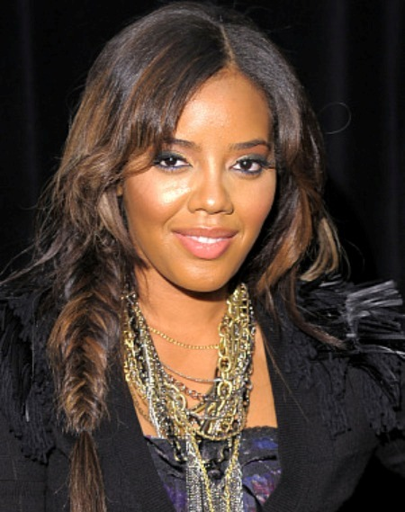 cool,angela simmons fishtail braid