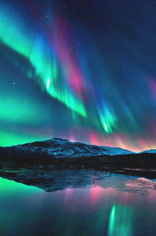 Красивые фото северного сияния (14 фото)