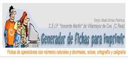 GENERADOR DE FICHAS PARA IMPRIMIR