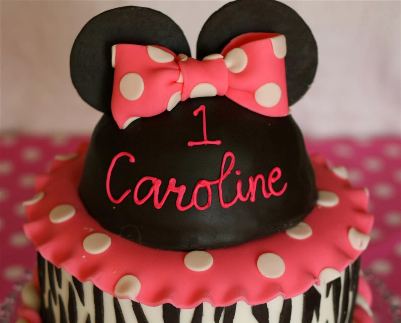 Patty Cakes Bakery Minnie Mouse Zebra PartyThe Sequel