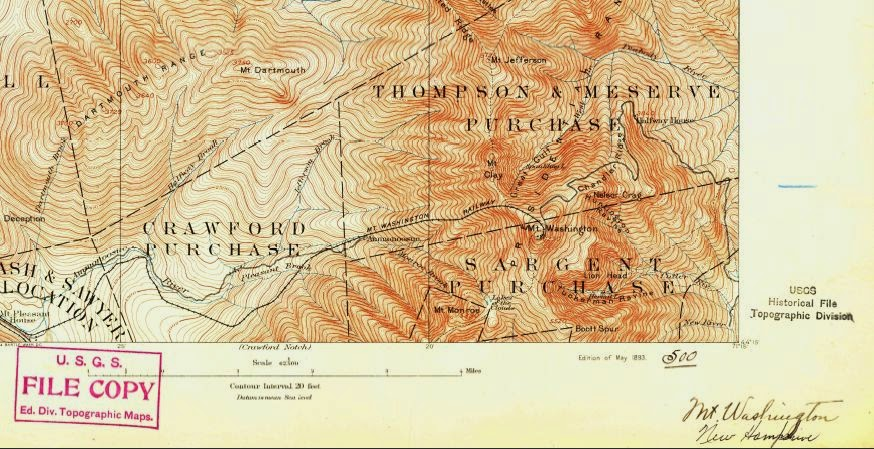 Appalachian Mountain Club s Equipped Nearly Every USGS Topo Map Ever Made For Free