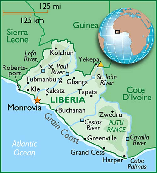 Ethnic groups in liberia