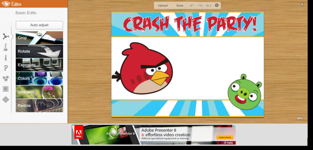 I Do On A Dime: Angry Birds Party