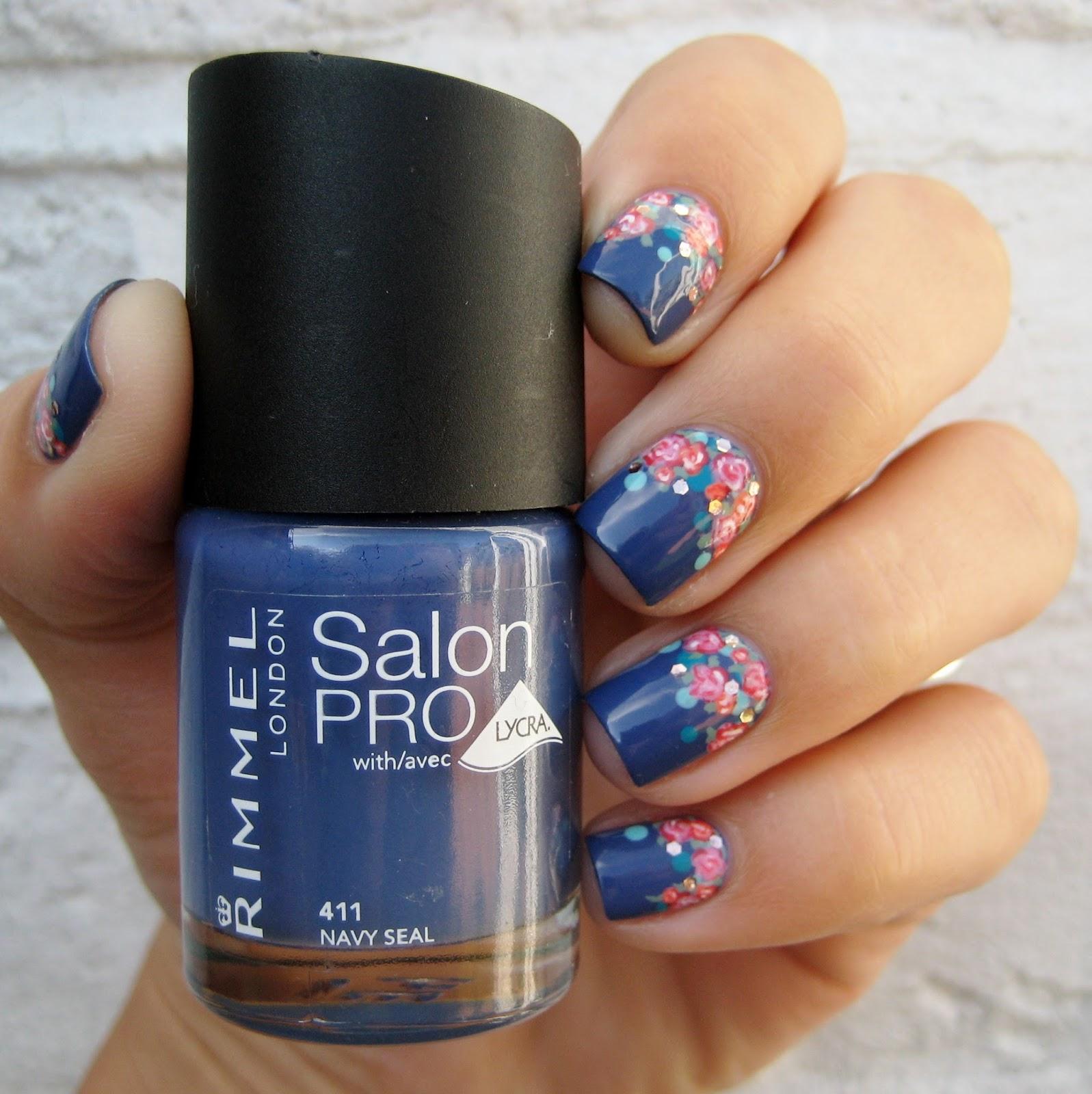 Dahlia Nails: Rimmel Roses