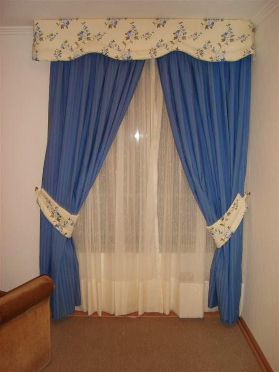 Cortinajes may laury cortinas para dormitorios - Modelos de cenefas para cortinas ...