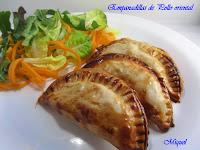 Empanadillas de pollo orientales