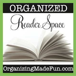 organized guest reader space
