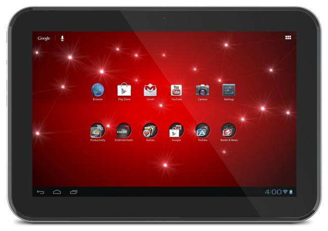 Toshiba Excite 10 AT305 - Full tablet specifications