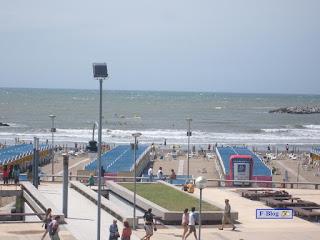 Foto costanera Mar del Plata