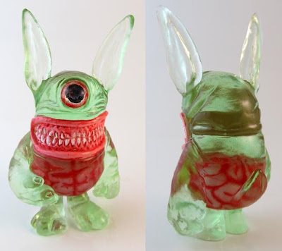 Zombie Meatster Bunny 4 Inch Resin Figure by Motorbot