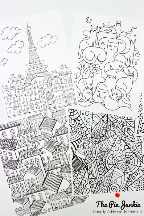 Coloring Pages For Grown Ups : Coloring pages for grown ups