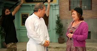 José Antonio Sayagués y Carmen Maura