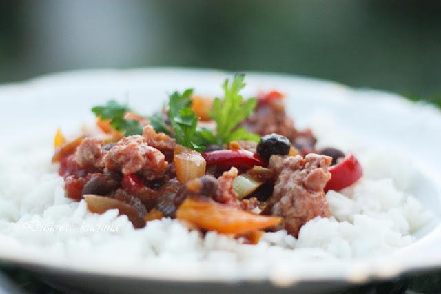 Chili con carne, recipe Chili con carne, przepis na Chili con carne, jak zrobić Chili con carne