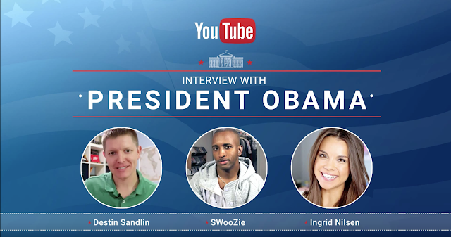 YouTube creators interview President Obama following his final State of the Union
